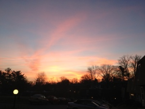 I'll take a beautiful sunrise any day