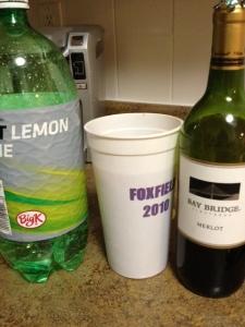 Merlot + Lemon soda= Tito yum!