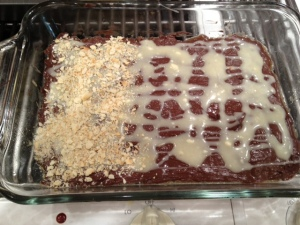 Chocolate toffee saltine cookies