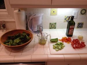 A healty salad bar