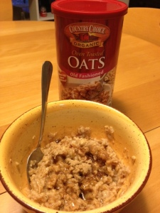 Bowl o' oats