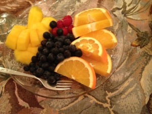 A pretty fruit plate