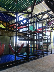 How cool is ACAC's kid'z zone jungle gym?
