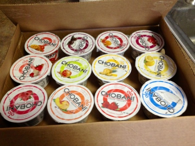 Like this awesome case of Chobani I received yesterday