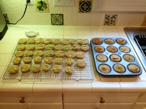 Sinful cookies and healthy muffins
