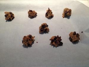 Chic pea cookies