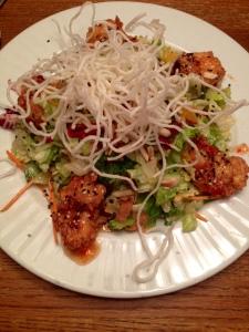 A healthy Thai salad...