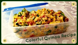 Colorful Quinoa Recipe