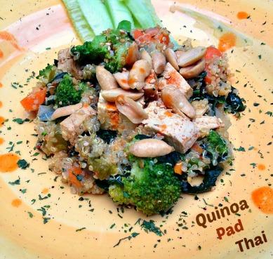 quinoa pad thai