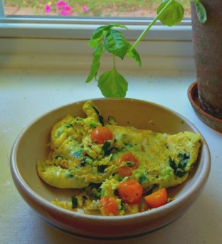 simple omelet