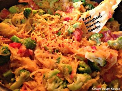 Easy spaghetti squash recipe