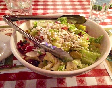 salad before running