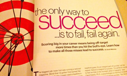 succeed from failure