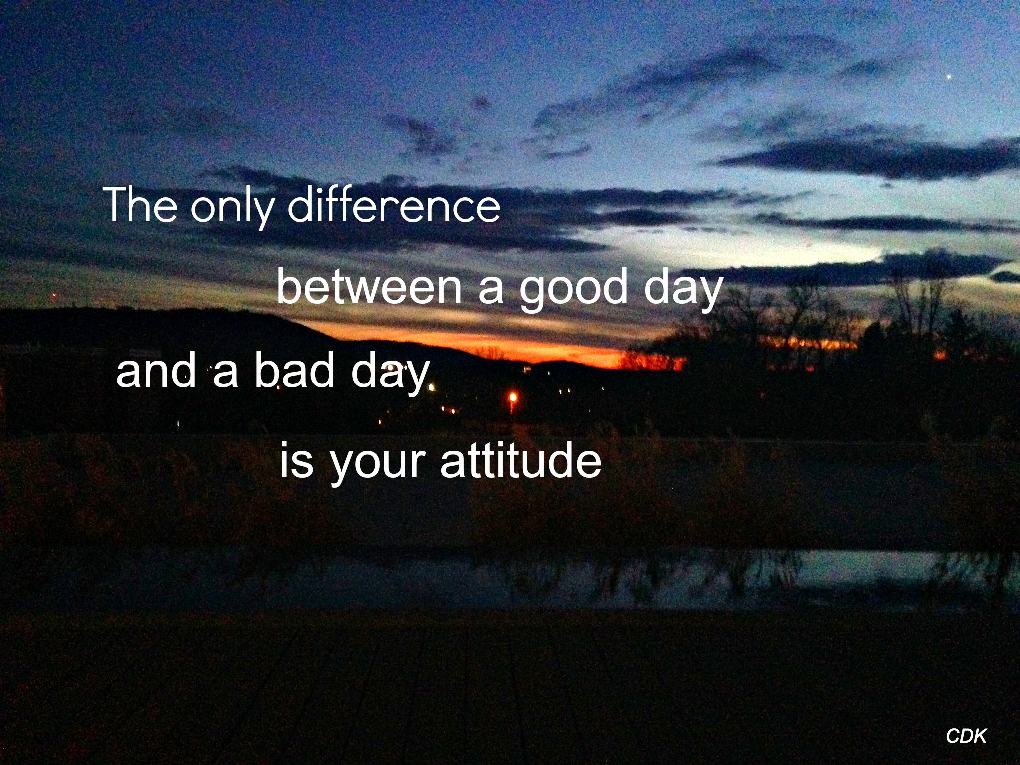 attitude is everything Attitude is everything by francie baltazar-schwartz jerry was the kind of guy you love to hate he was always in a good mood and always had something positive to say.
