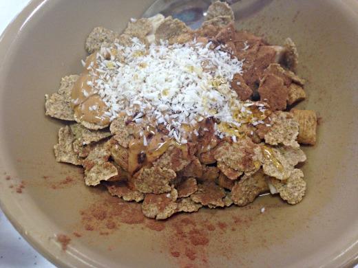cereal yogurt bowl