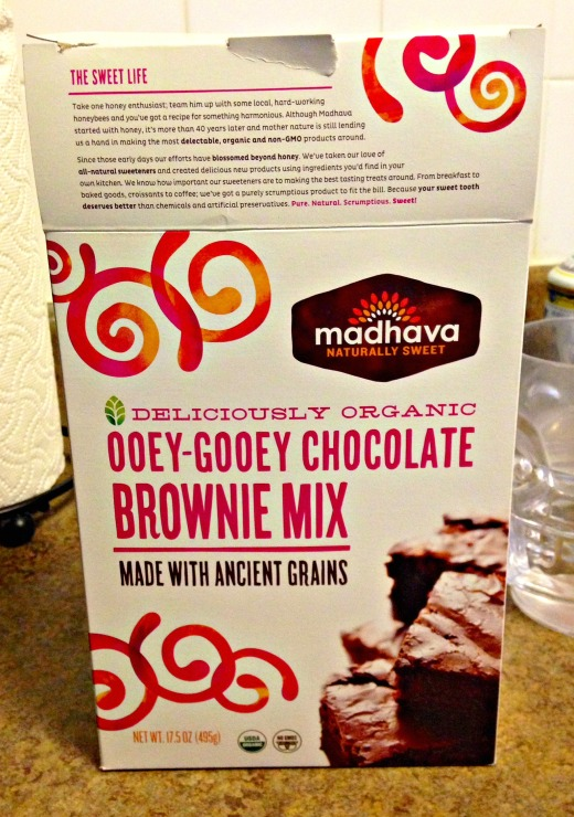 ooey gooey chocolate brownie mix
