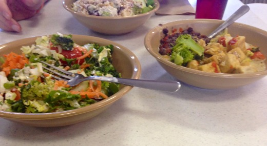 yogaville lunch