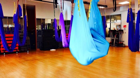 aerial yoga at ymca