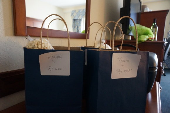 Belmont Gift bags