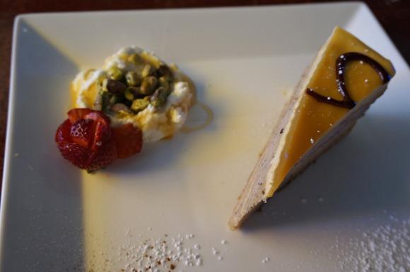 Desserts at basil