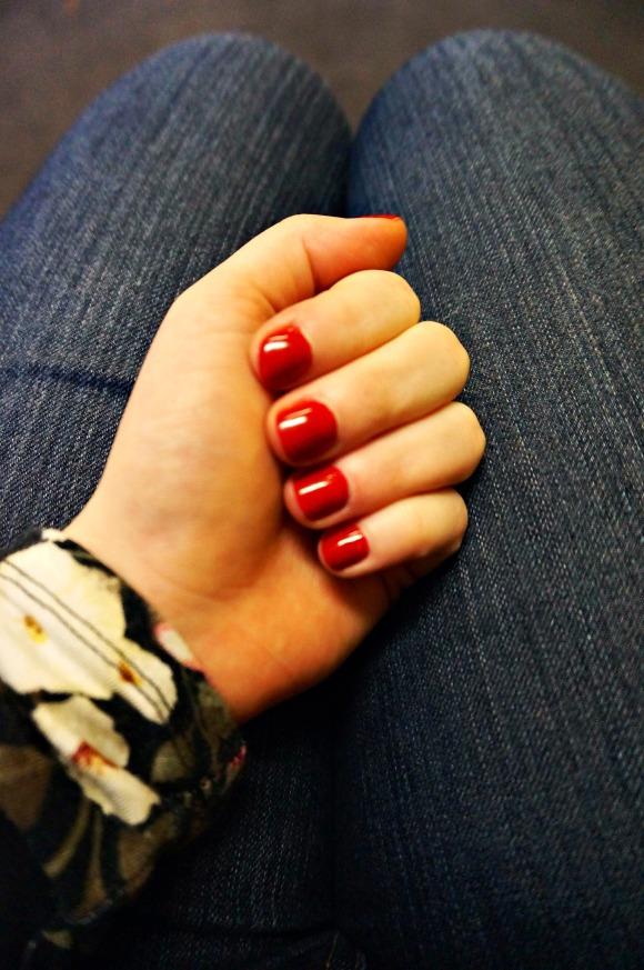 Manicure at Mimosa Salon