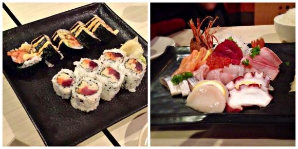 raku sushi sashimi