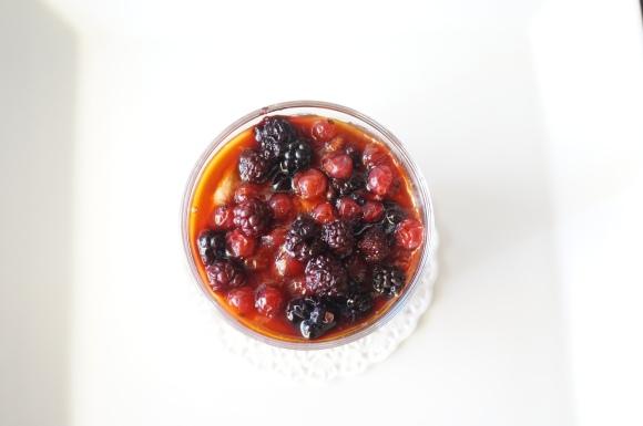 berries dessert in cville