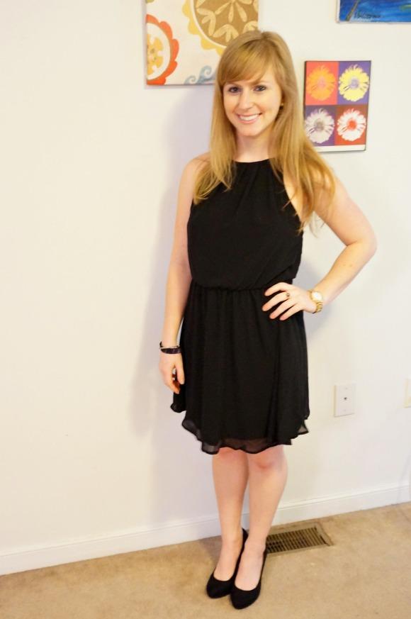 Dress: Nordstrom, Shoes: H&M