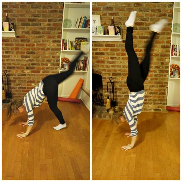 handstands on handstands