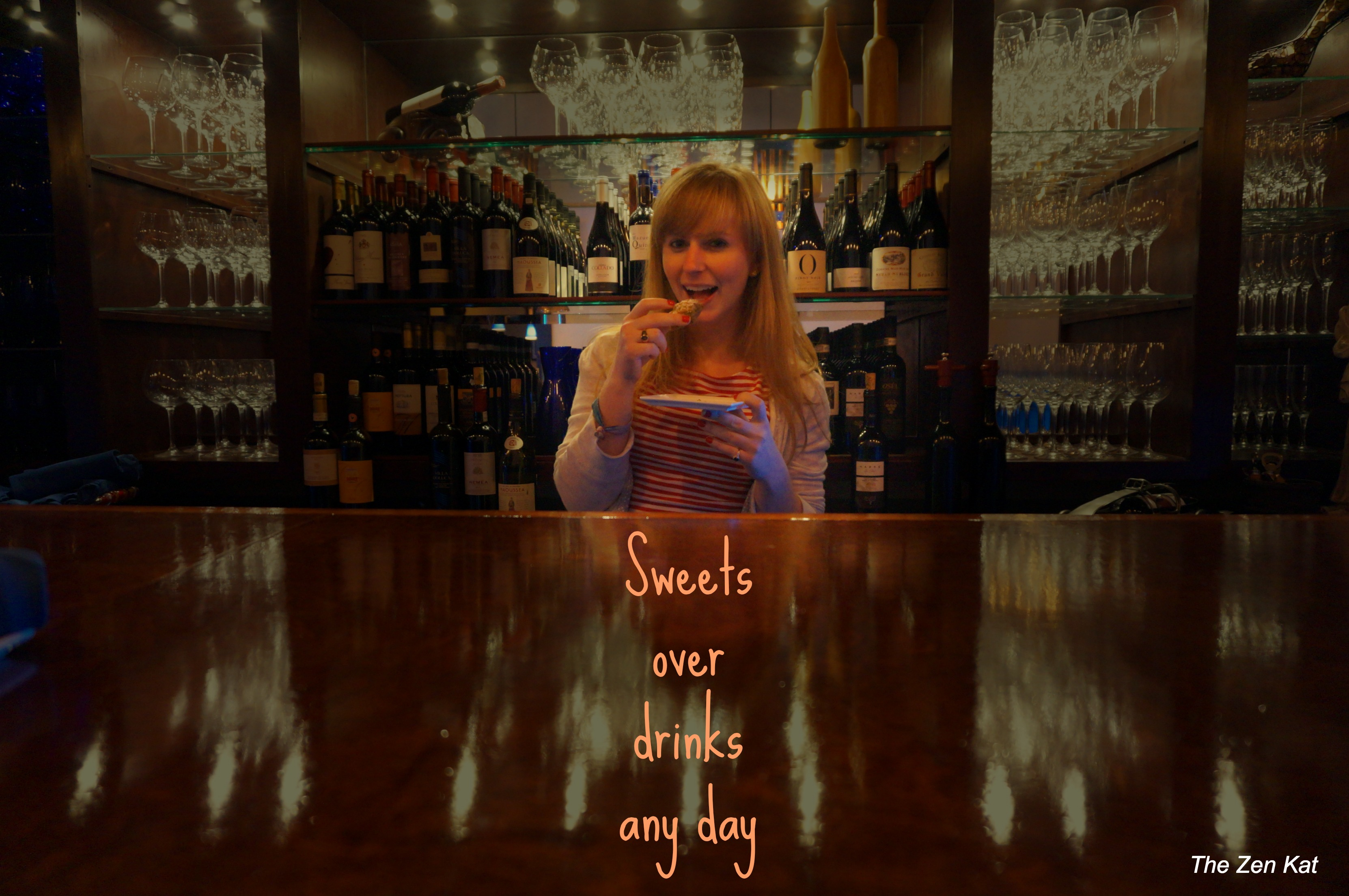 sweets over drinks